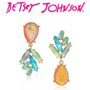 Betsey Johnson Pineapple Earrings